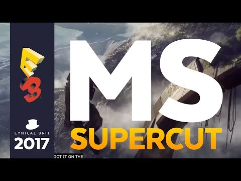 The E3 Microsoft Conference 2017 Supercut - Totalbiscuits Snarkathon [strong language]