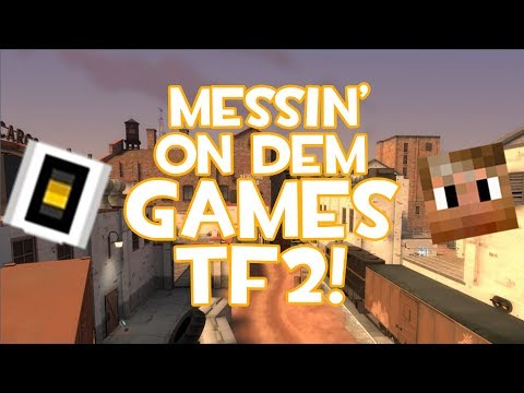 Ric & Jad Messin' on Dem Games - TF2 Freight & Vatican City Server