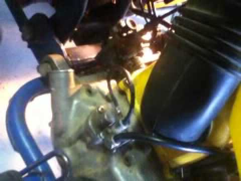 How To Remove The Carburetor On An Lt80 Kfx80 Youtube