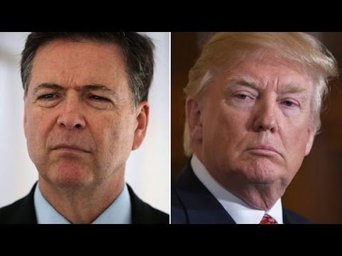 Thumbnail: Listen to Trump flip-flop on Comey stance