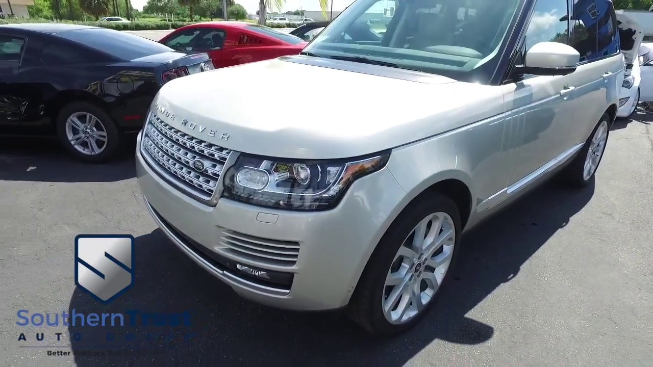 Live Video 2014 Land Rover Range Rover Supercharged Plus Autobiography Pkg 137814 Southern Trust