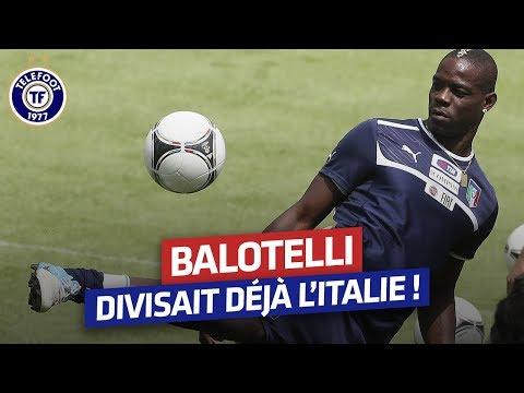 Quand Mario Balotelli divisait l'Italie (Février 2010)