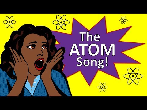 The Atom Song | Protons Neutrons Electrons for Kids | Silly School Songs