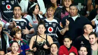 Haka at Sydney Football Stadium - Warriors vs Tigers finals Sep 2011 performed by KiwiLocals