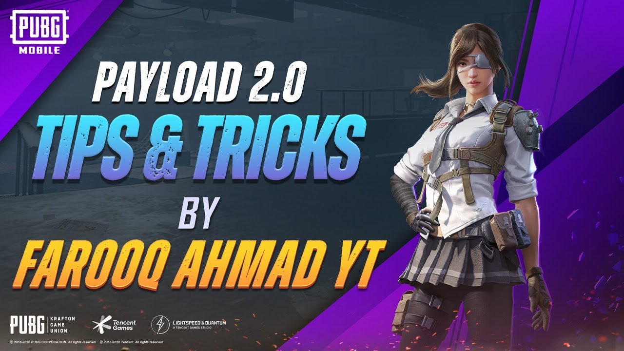 Gripping tips and tricks in Payload 2.0 by @FAROOQ AHMAD YT  | PUBG MOBILE Pakistan Official