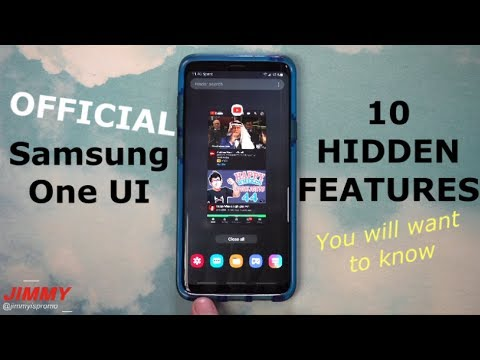 Official Samsung One UI - AWESOME 10 HIDDEN Features (What Is New)