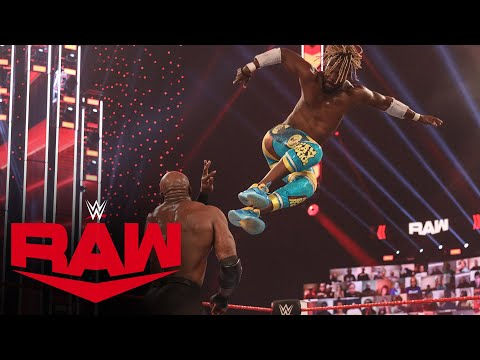 Jeff Hardy & The New Day vs. The Hurt Business: Raw, Dec. 14, 2020