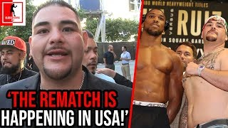 Boxing News: Andy Ruiz Jr says Anthony Joshua REMATCH WILL be in USA on HIS TERMS
