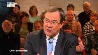 Der Klimasturz. Die Flüchtlingsdebatte verändert das Land - Unter den Linden am 26.10.2015