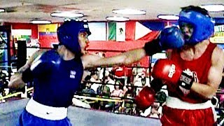 Alexis Chapparo / Andriy Aleksandrovsky : International Boxing : 165 lb. open.3 rounds