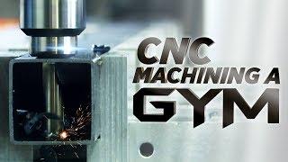 CNC Machining Steel Crossfit Equipment   Vlog #83
