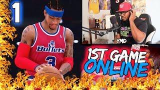 1st Game Online! Pink Diamond GOAT Debut NBA 2k19 MyTeam Ep. 1