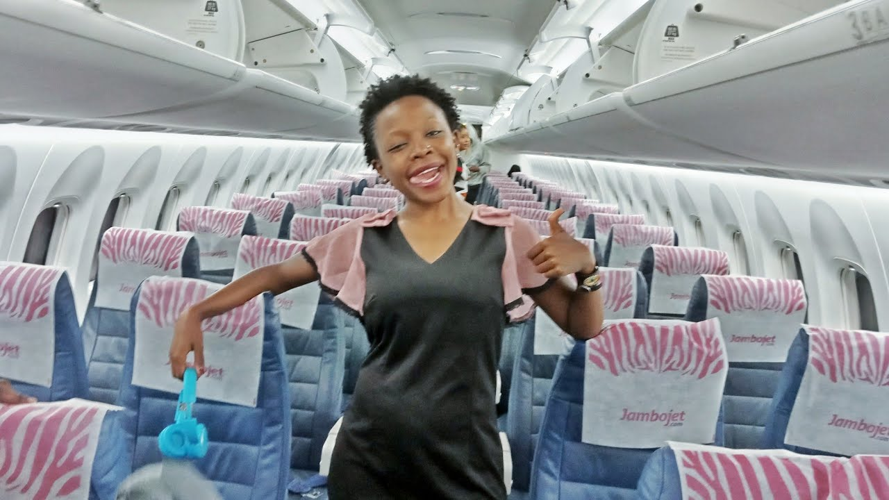 FLYING FROM UGANDA TO KENYA!!