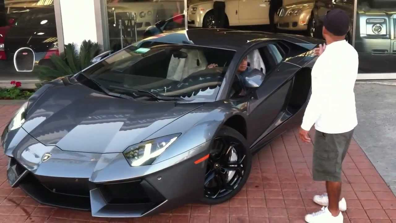 Grigio Estoque Lamborghini Aventador Lp700 4 Youtube