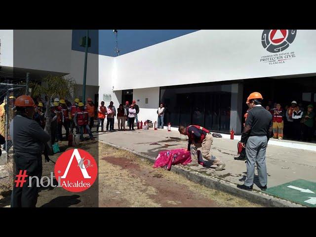 Noti Alcaldes: Recibe capacitación personal de protección civil de Tlaxcala