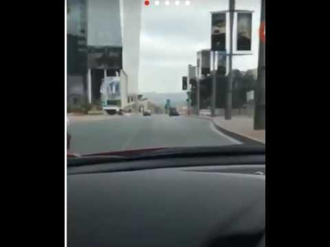 Ferrari 488 -Mazda crash !!!Johannesburg Sandton