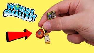 Opening the World's Smallest Drinks!