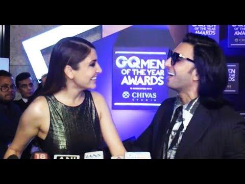 DONT MISS!! Ranveer Singh And Anushka Sharma's FUN Moments At GQ Awards