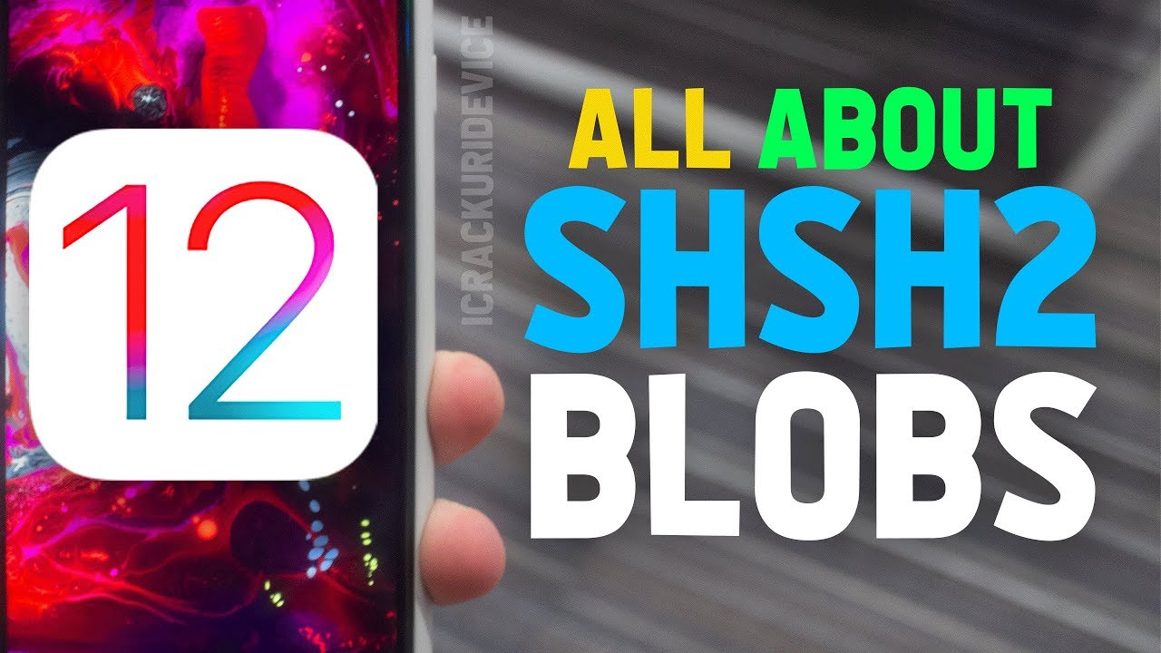 iOS 12 1 2 Jailbreak Prep: How to Save & USE SHSH2 Blobs!! (iOS 12  NonceReboot)