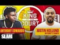 Anthony Edwards was BULLYING on 8-FOOT RIMS?! 😳 | SLAM King of the Court