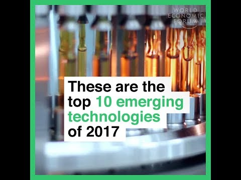 These are the top 10 emerging technologies of 2017