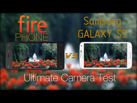 Amazon Fire Phone vs Galaxy S5- Camera Test