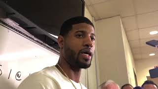 Thunder vs Rockets - Paul George