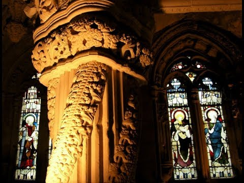 Rosslyn Chapel Roslin Near Edinburgh Scotland