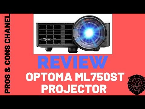 Optoma ML750ST Ultra Compact 700 Lumen WXGA Short Throw LED Projector  Review