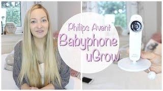 Test: Philips Avent Smart-Babyphone uGrow - SCD870/26 | babyartikel.de