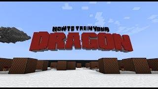 How To Train Your Dragon - Test Drive [Minecraft Noteblocks]