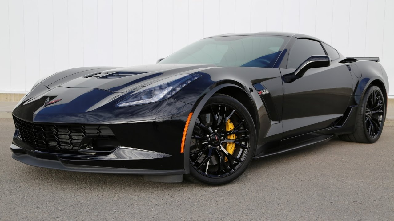 2017 chevrolet corvette z06 650hp 650 tq blacked out youtube. Black Bedroom Furniture Sets. Home Design Ideas