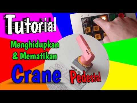 Tutorial Crane Pedestal (liebherr)