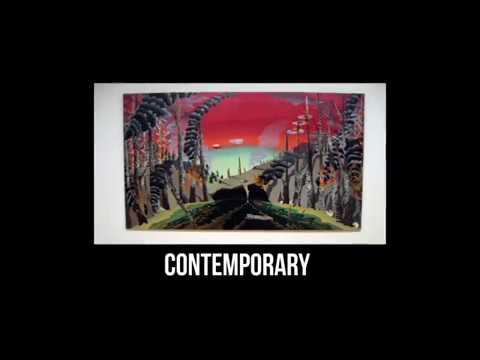contemporary art vocab definition youtube