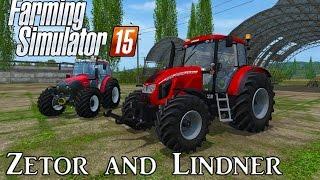 Farming Simulator 15 | Mod Showcase - Lindner and Zetor Tractors!