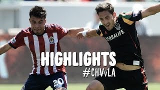 HIGHLIGHTS: Chivas USA vs. Los Angeles Galaxy | April 6, 2014