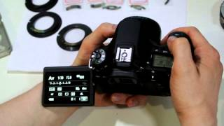 УРОК 3 ПРОГРАММИРОВАНИЕ ФОКУСНОГО РАССТОЯНИЯ одуванчика Gfoto X PRO для Canon EOS
