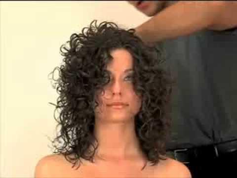 Styling Curly Hair By Ardem Keshishian In Dallas