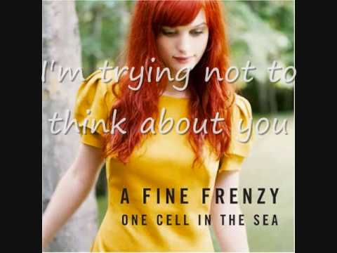 A Fine Frenzy - Almost Lover (With Lyrics)