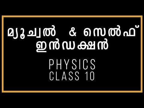 മ്യൂച്വൽ  & സെൽഫ്  ഇൻഡക്ഷൻ | Physics | Class 10 | SSLC Kerala