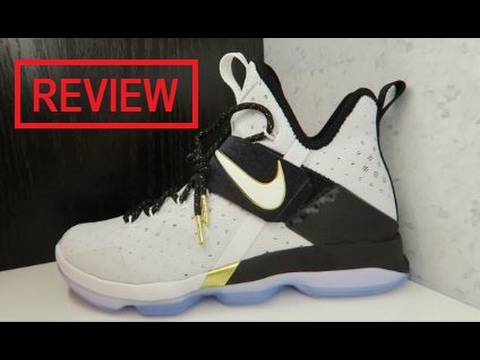 72e724d4f11c Nike Lebron 14 BHM Sneaker Review - YouTube