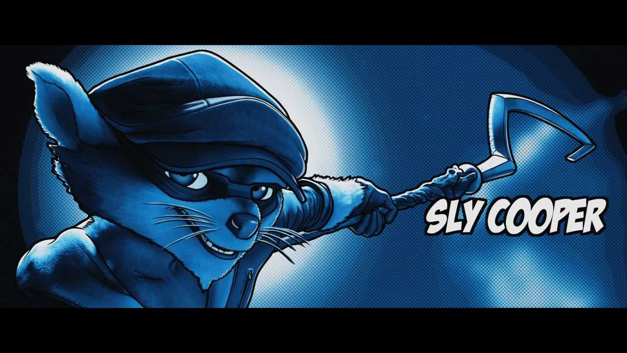 sly cooper animated film