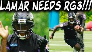 Why Robert Griffin III & Lamar Jackson Need Each Other!!!