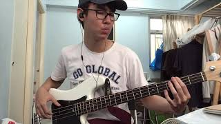 Vansire - That I Miss You (bass cover with tabs in desc)