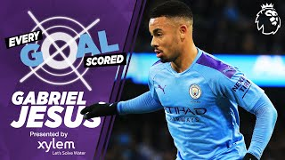 Gabriel jesus arrived at man city from brazilian club palmeiras for £27m in january 2017.scoring seven goals 11 games his debut season the striker has ...