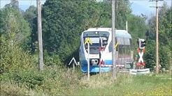 BOB Züge zwischen Darching und Holzkirchen