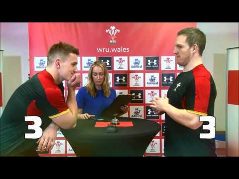 5 Second Challenge: Jonathan Davies v Gethin Jenkins | WRU TV