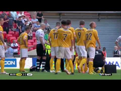 Cambridge United vs Gateshead - Conference Playoff Final 18th May 2014