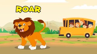 We're going on a Safari Song - Animal Sounds Song