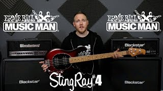 Ernie Ball Music Man StingRay4 Special Bass Guitar Review